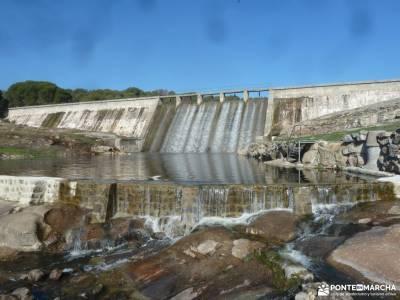 Hoyo de Pinares;Valle de la Pizarra y los Brajales-Cebreros;desnivel acumulado las cascadas del purg
